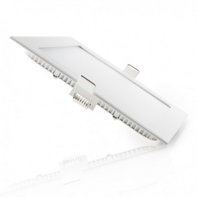Downlight empotrar cuadrado 15 W BLANCO CALIDO