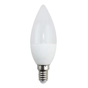 Bombilla vela economica E-14P 6 W 230 V 3000K (blanco cálido)
