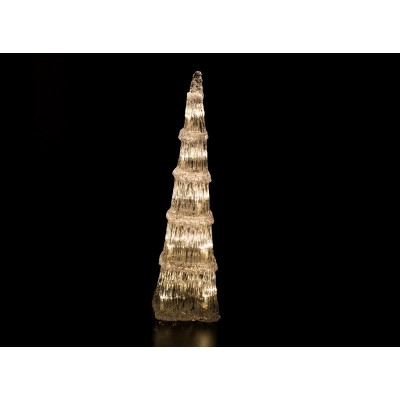 ÁRBOLES LED, BLANCO CÁLIDO 60 cm de altura