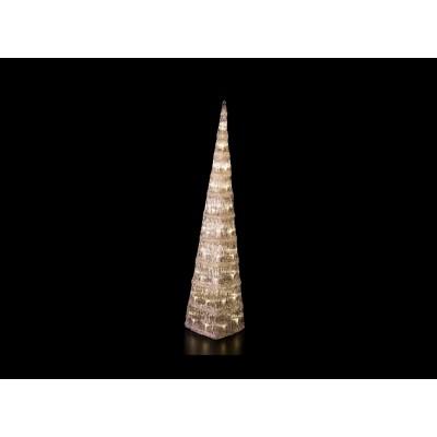 ÁRBOLES LED, BLANCO CÁLIDO 90 cm de altura