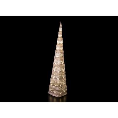 ÁRBOLES LED, BLANCO CÁLIDO 120 cm de altura