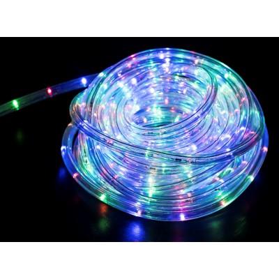 TUBO LUMINOSO FLEXIBLE DE LED - 10 METROS - CON CONTROLADOR DE EFECTOS