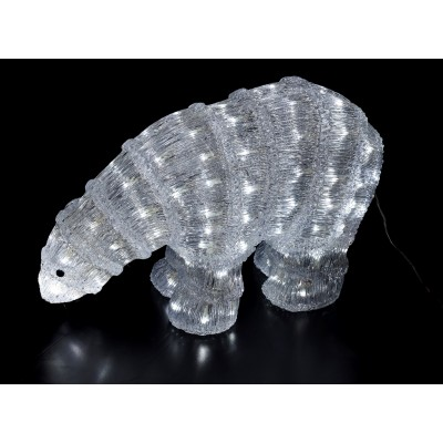 MUÑECOS LUMINOSOS LEDS , OSITO 60 cm