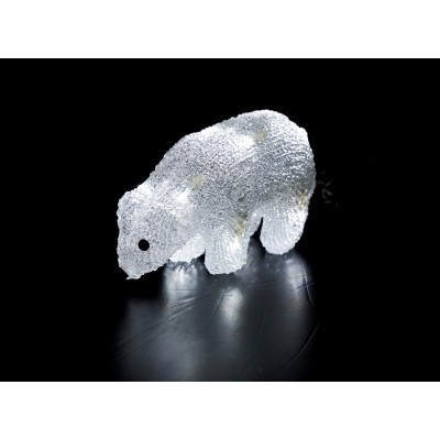 MUÑECOS LUMINOSOS LEDS , OSITO 18,5 cm