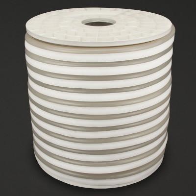 Tiras Neón flex silicona 12*6mm , Blanco