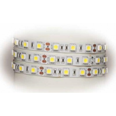 Tira 60 Leds SMD5050 IP-20 BLANCO CALIDO (2400k)