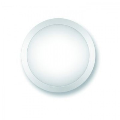 Aplique LED de pared o techo redondo de policarbonato, 14W, IP65