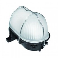 Aplique decorativo de exterior , NEGRO , 6W , LED incluido