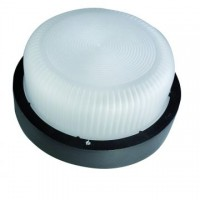 Aplique LED de pared redondo, 6W, IP44