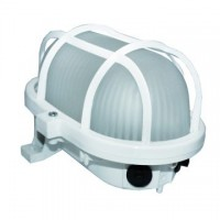 Aplique decorativo de exterior , BLANCO  6W , LED incluido