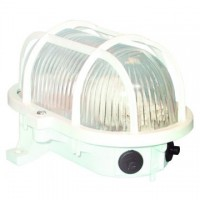Aplique decorativo de exterior , BLANCO hasta 60W