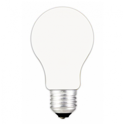 Bombilla LED estandar E-27P 3W 230 V Blanco