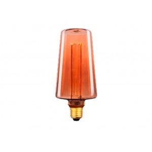 LAMPARA LED DECO AMBAR E27 4W 1800K 360º 230V