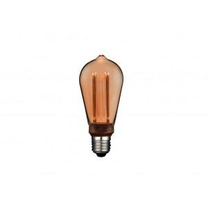 LAMPARA LED DECO EDISON E27 4W 1800K 360º 230V