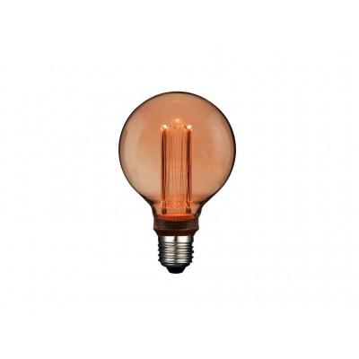 LAMPARA LED DECO GLOBO G95 E27 4W 1800K 360º 230V