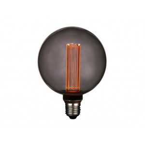LAMPARA LED DECO GLOBO G125 SMOKY E27 4W 1800K 360º 230V