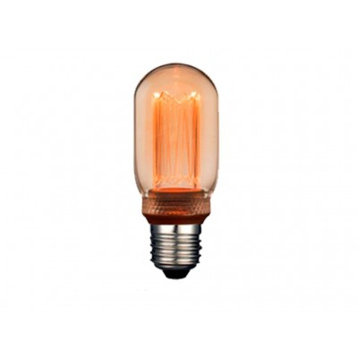 LAMPARA LED DECO T45 AMBAR E27 4W 1800K 360º 230V