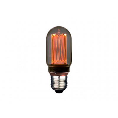 LAMPARA LED DECO T45 SMOKY E27 4W 1800K 360º 230V