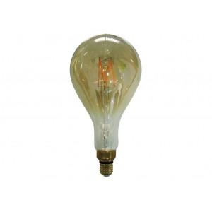LAMPARA DECORATIVA LED VINTAGE GOLD MAXI E27 8W 2700K 360º 230V