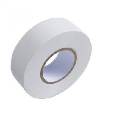 Rollo cinta aislante 10*19mm blanco