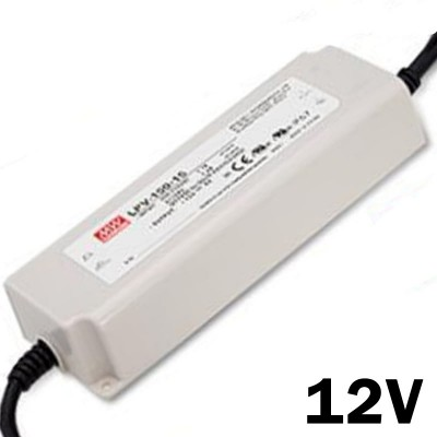 Fuente de Alimentacion estanca  MEAN WELL IP67 150w 12v