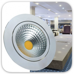 Focos downlight LED COB empotrar  (9)