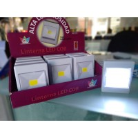 PACK 12 Linternas LED COB (pilas incluidas)