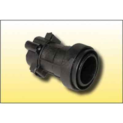 Portalamparas guirnalda E-27P IP68 para manguera 12x5mm