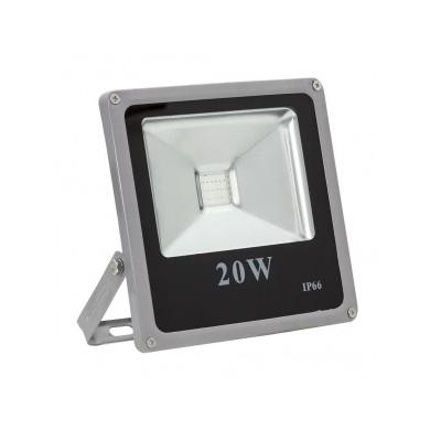 Foco Led exterior Extraplano 20 W 230 V RGB