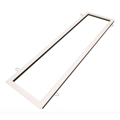 Soporte panel LED 1200x300mm empotrar