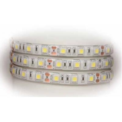 Tira 60 Leds SMD5050 SEMIPROTEGIDA IP-65 BLANCO NEUTRAL (4000k)