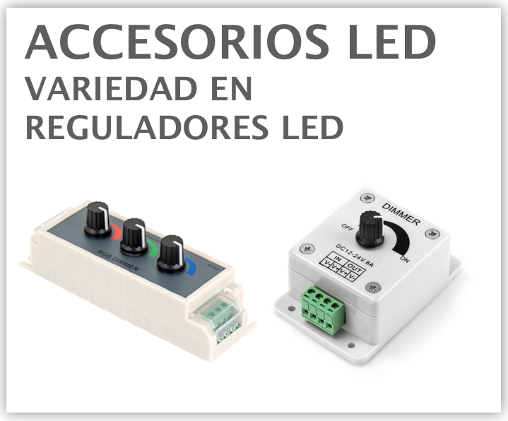 reguladores led